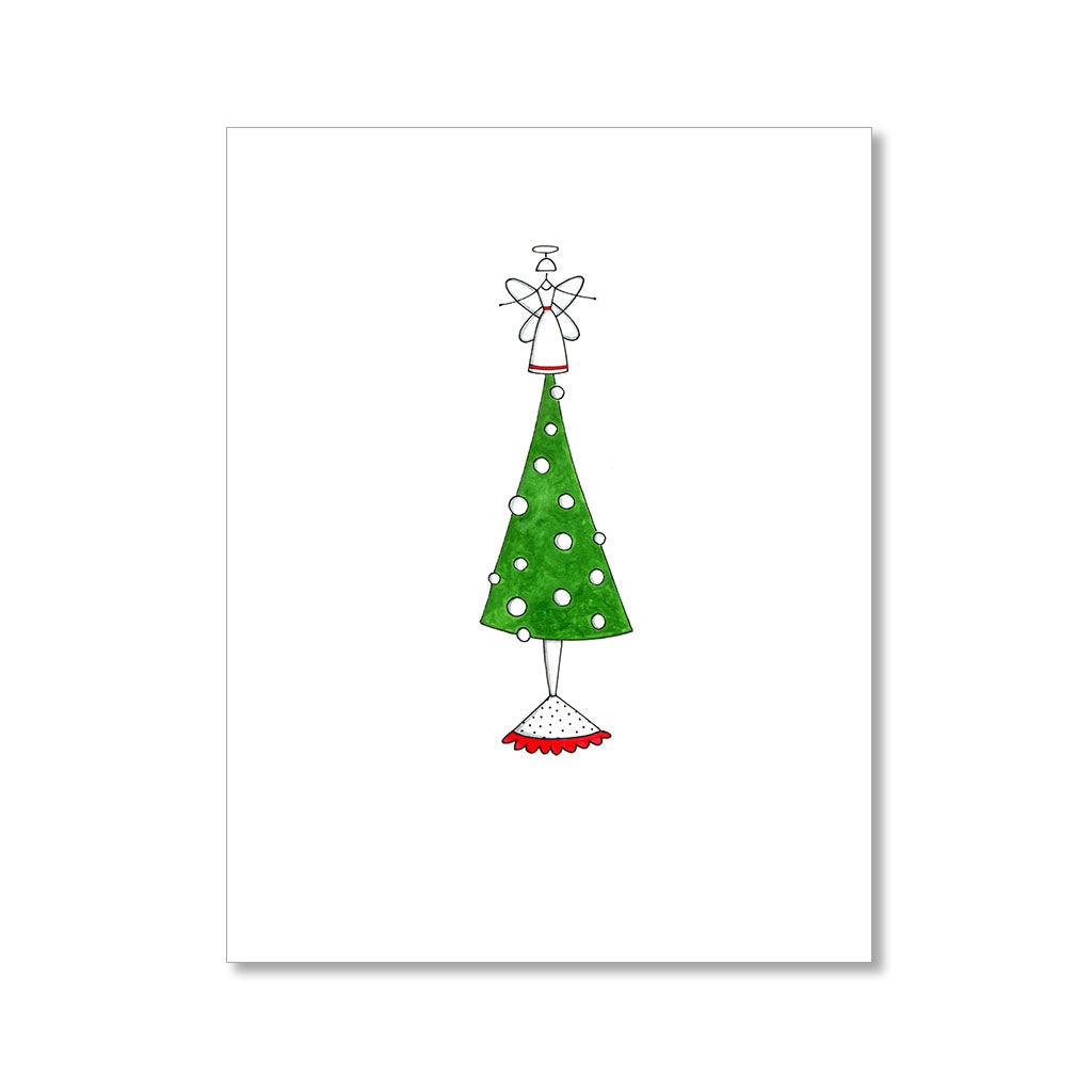 """ANNE THE ANGEL"" HOLIDAY CARD"