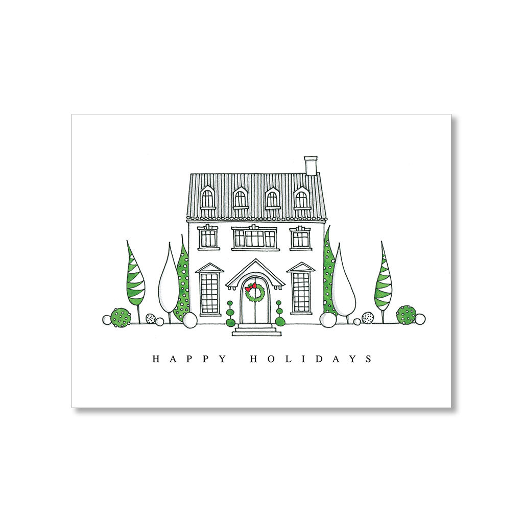 """HOLIDAY HOUSE"" HOLIDAY CARD"
