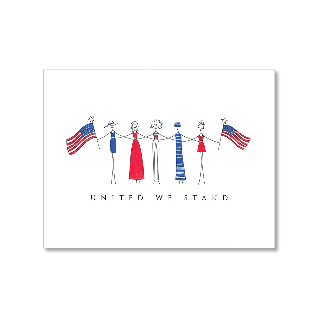 """UNITED WE STAND"" FRIENDSHIP CARD"