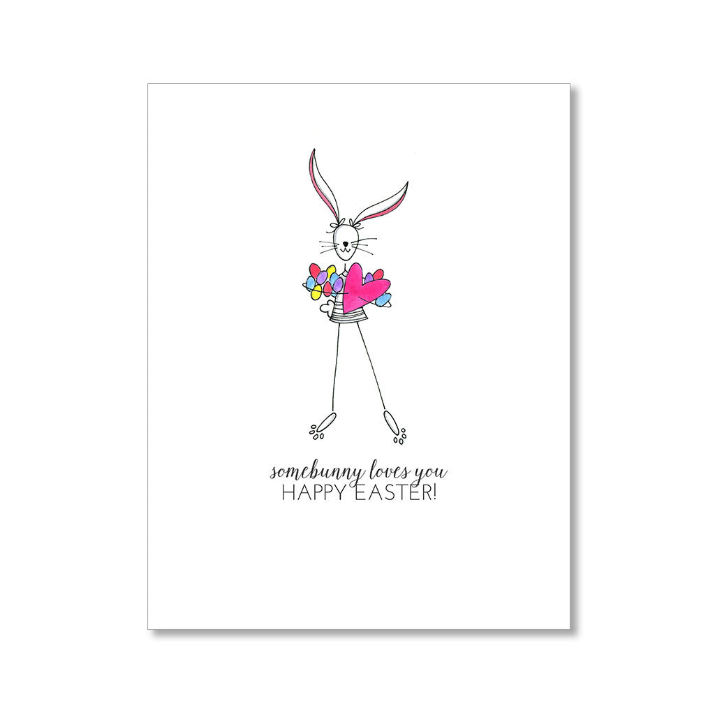 """SOMEBUNNY"" EASTER CARD"