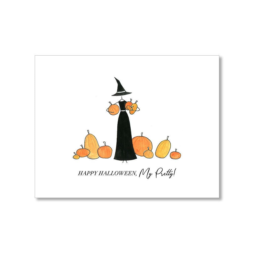 """MY PRETTY"" HALLOWEEN CARD"