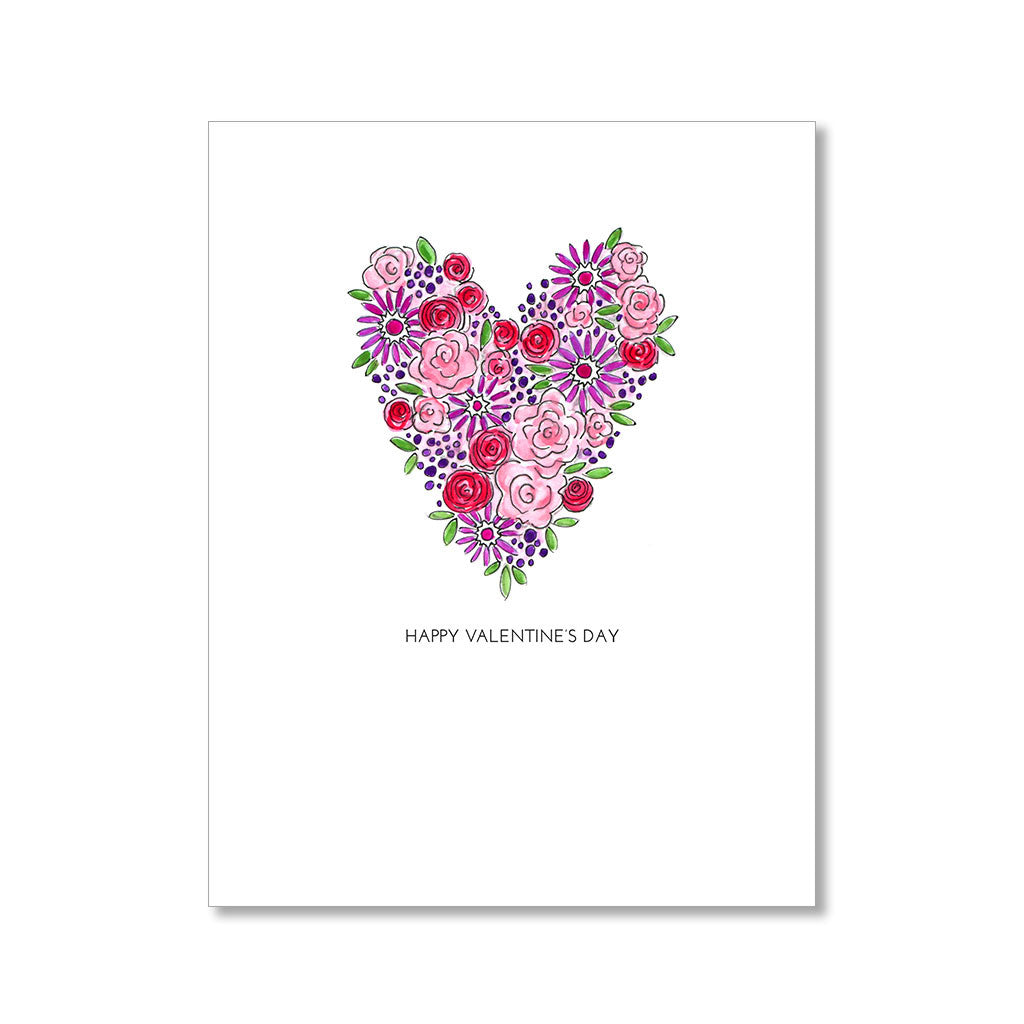 """FLOWER HEART"" VALENTINE"