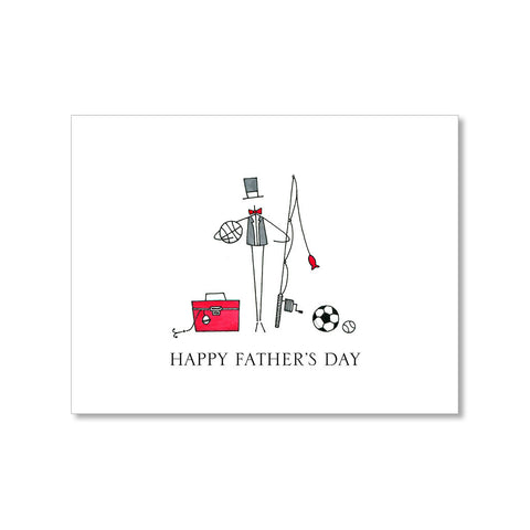 """TACKLE BOX"" FATHER'S DAY CARD"