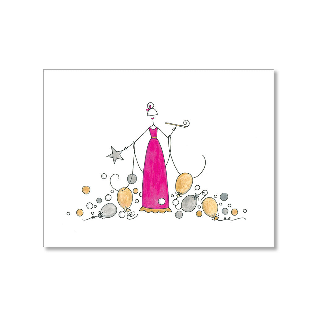 """SPARKLE"" NEW YEAR CARD"