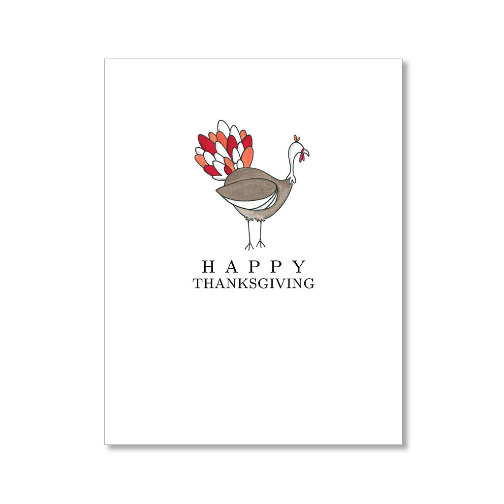"""TURKEY TIME"" THANKSGIVING CARD"