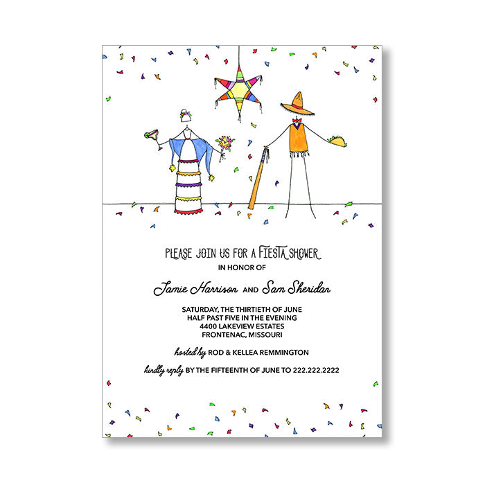 """FIESTA"" INVITATION"