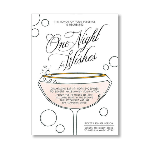"""BUBBLES"" INVITATION"