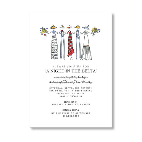 """DOWN SOUTH"" INVITATION"