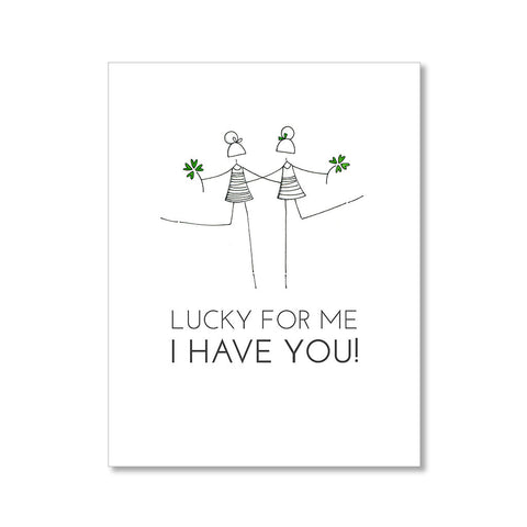 """LUCKY ME"" FRIENDSHIP CARD"