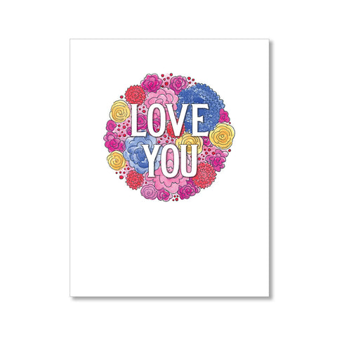 """LOVE YOU"" LOVE CARD"