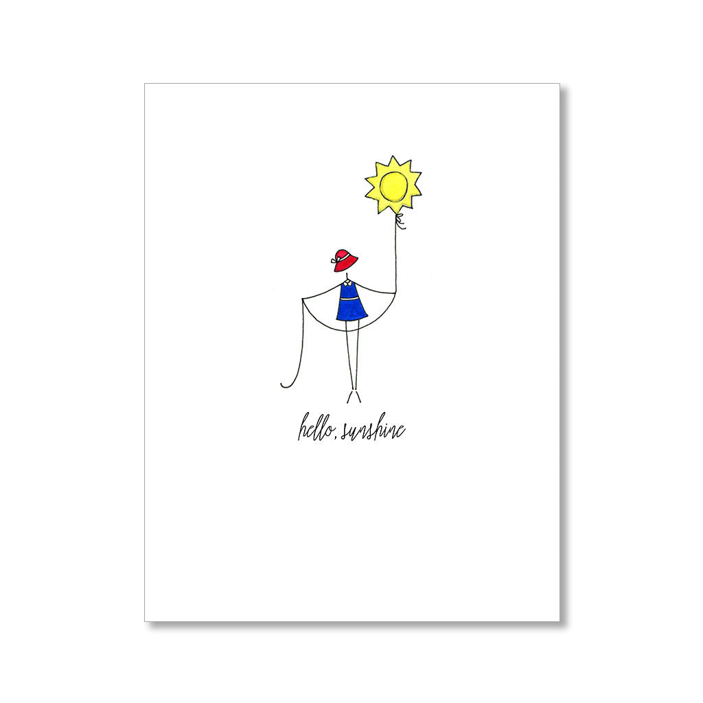 """HELLO SUNSHINE"" ANYTIME CARD"