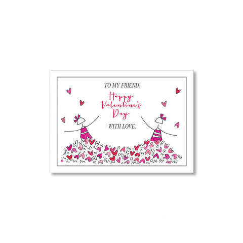 """PILES OF LOVE"" MINI VALENTINE - SET OF 10"