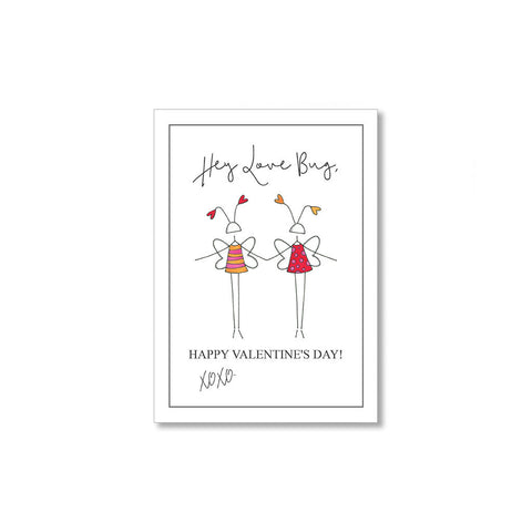 """LOVE BUG"" MINI VALENTINE - SET OF 10"
