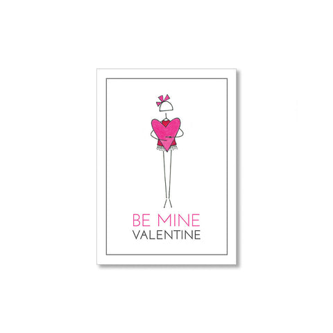 """BE MINE"" MINI VALENTINES - SET OF 10"