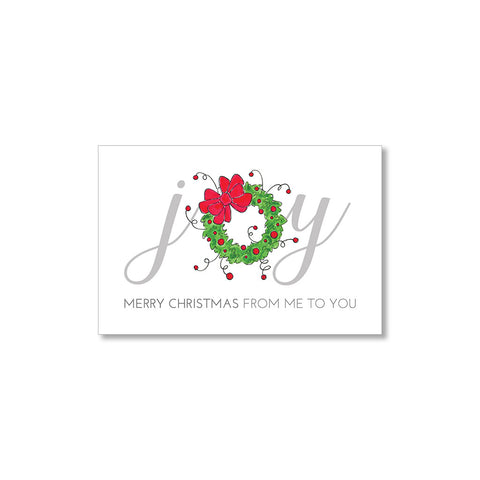 """JOY"" GIFT TAGS - SET OF 10"