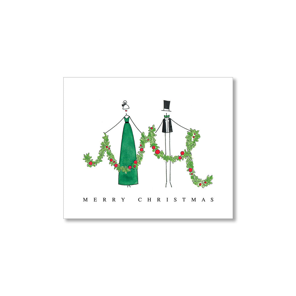 """GARLAND"" GIFT TAGS - SET OF 10"