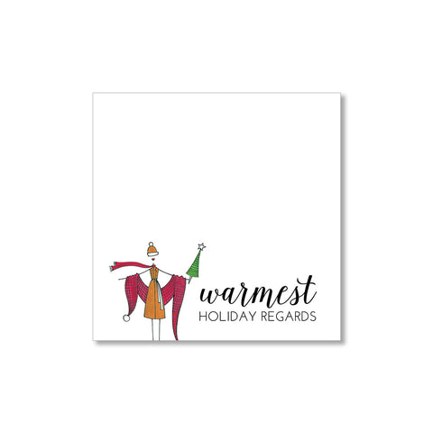 """WARMEST REGARDS"" GIFT TAGS - SET OF 10"