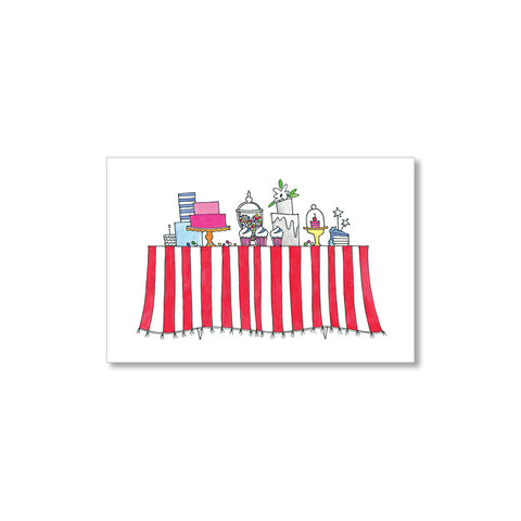 """SWEETS STATION"" GIFT TAGS - SET OF 10"