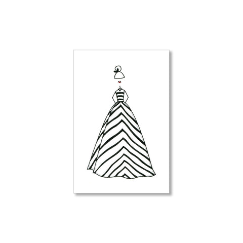 """THE STRIPED DRESS"" GIFT TAGS - SET OF 10"