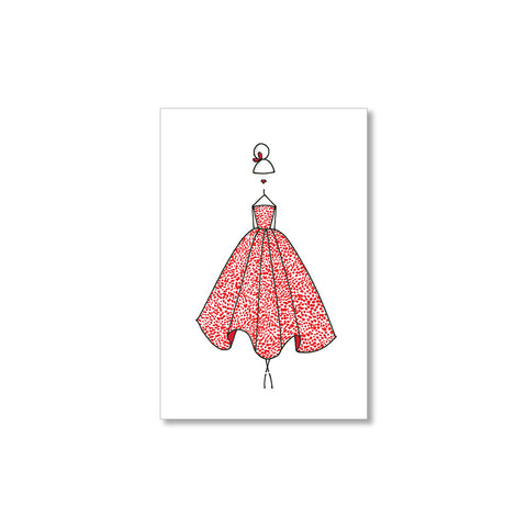"""THE RED DRESS"" GIFT TAGS - SET OF 10"