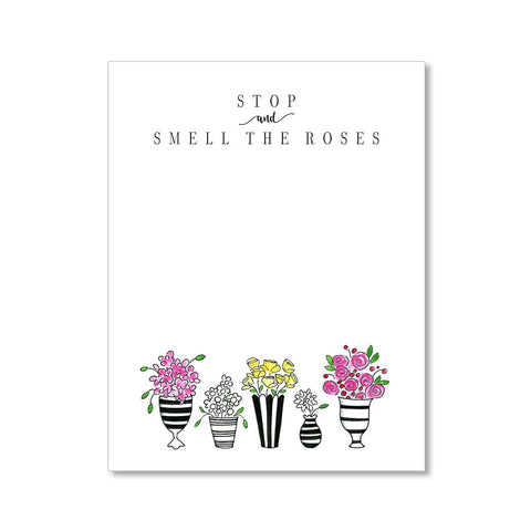 """BRIGHT BOUQUET"" NOTEPAD"