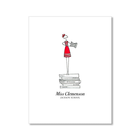 """READ TO ME: MISSES"" PERSONALIZED STATIONERY"