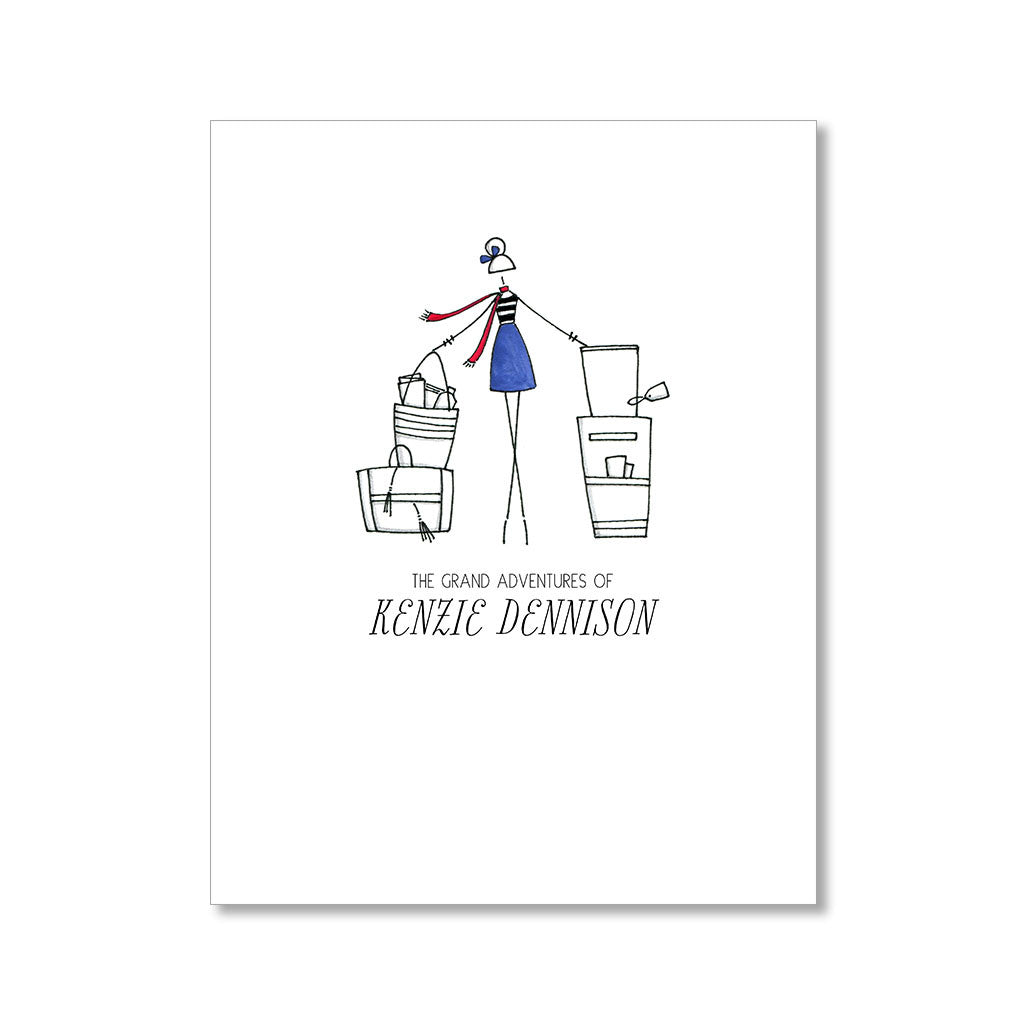"""THE TRAVELER"" PERSONALIZED STATIONERY"