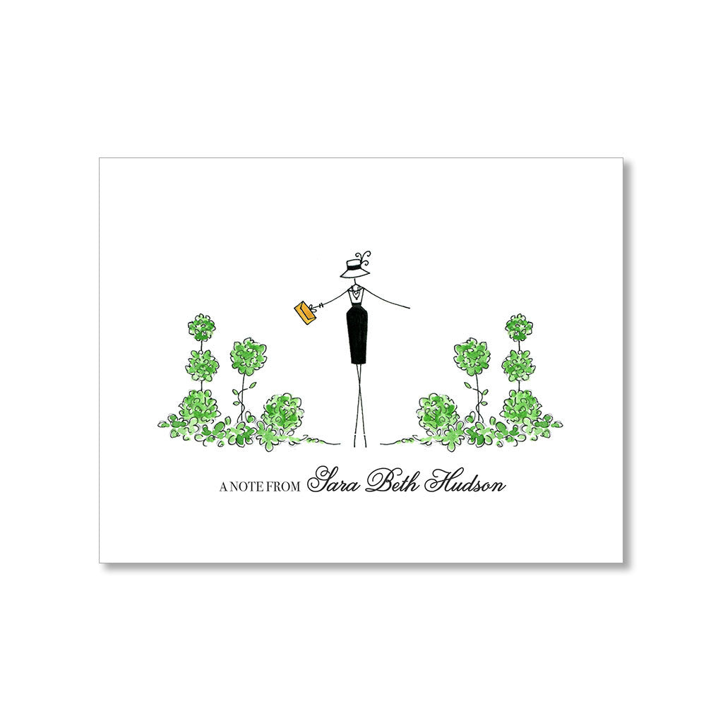 """SOUTHERN CHARM"" PERSONALIZED STATIONERY"