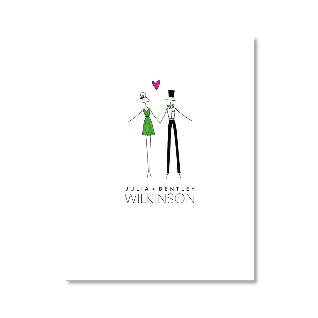 """A LOT OF LOVE"" PERSONALIZED STATIONERY"