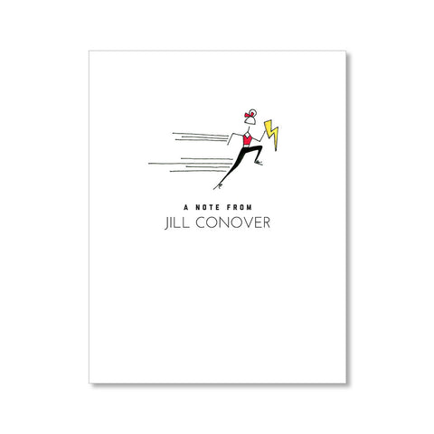 """LIGHTNING FAST"" PERSONALIZED STATIONERY"