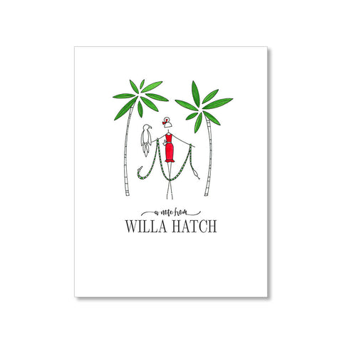 """TROPICAL"" PERSONALIZED STATIONERY"