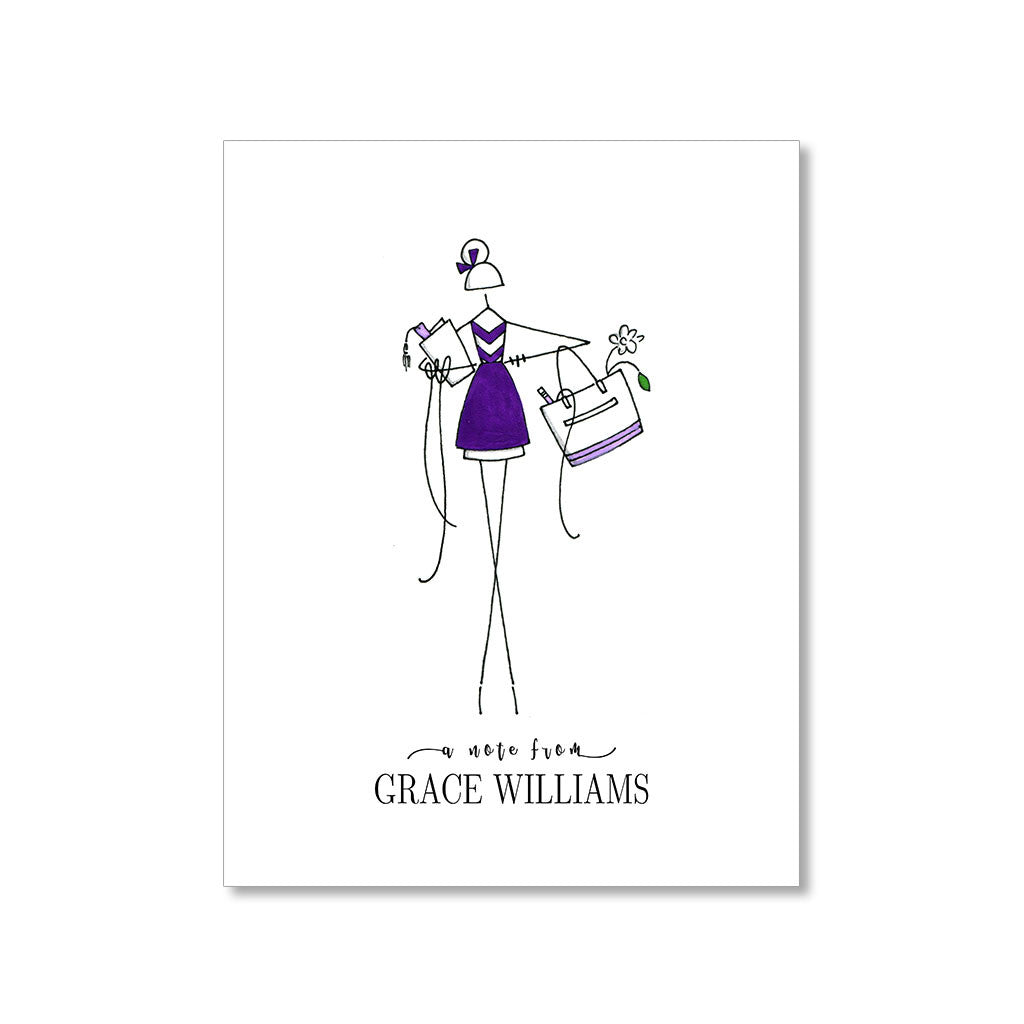 """GRACE"" PERSONALIZED STATIONERY"