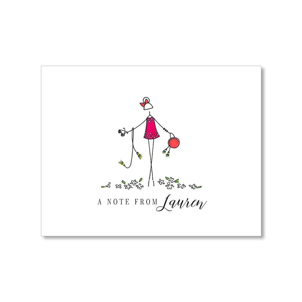 """LAUREN"" PERSONALIZED STATIONERY"