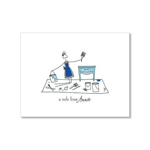 """THE BAG LADY"" PERSONALIZED STATIONERY"