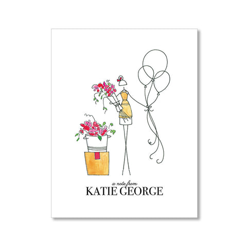 """THE FLORIST"" PERSONALIZED STATIONERY"