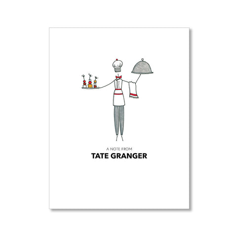 """THE CHEF"" PERSONALIZED STATIONERY"