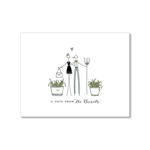 """FANCY FARMERS"" PERSONALIZED STATIONERY"
