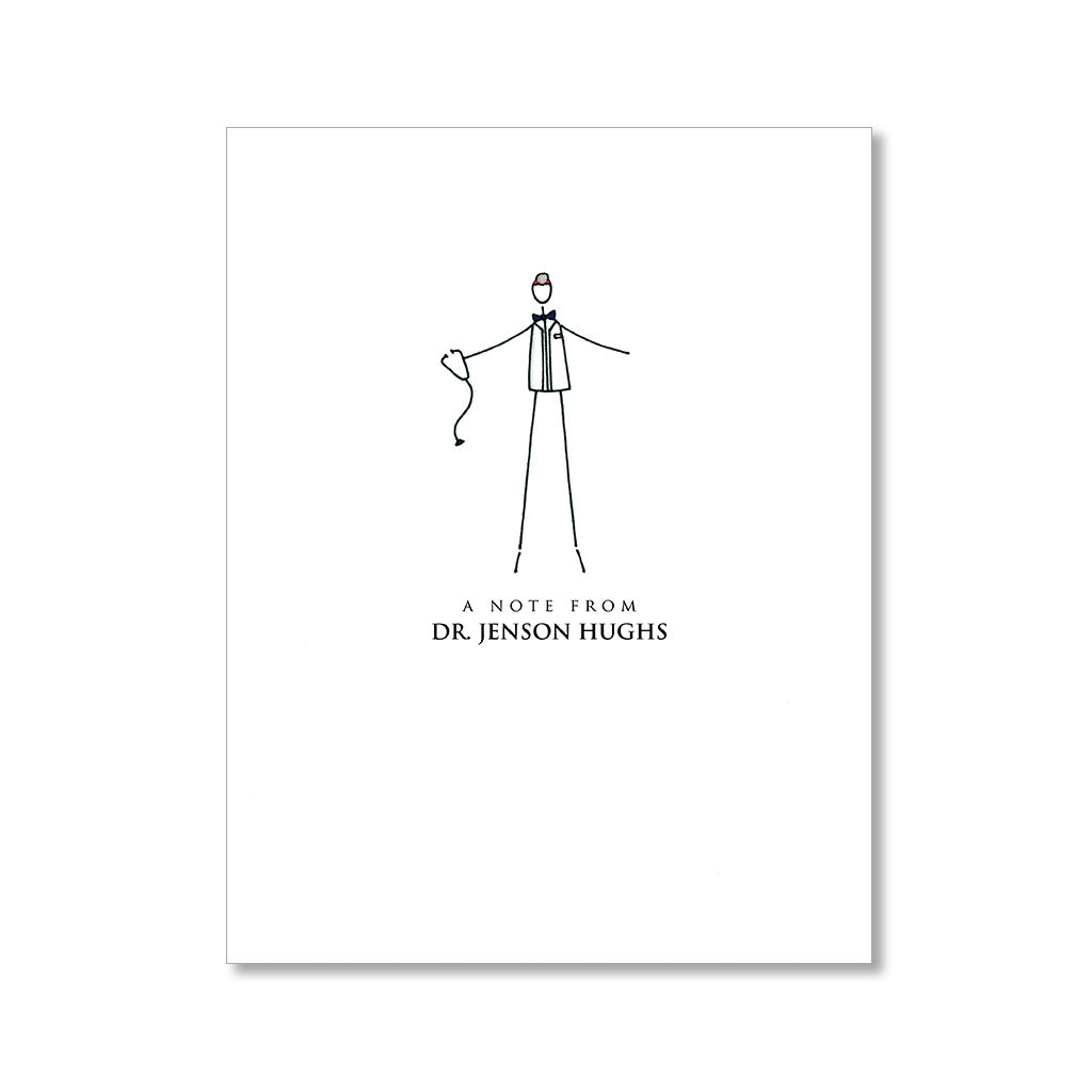 """THE GOOD DOCTOR: MISTER"" PERSONALIZED STATIONERY"