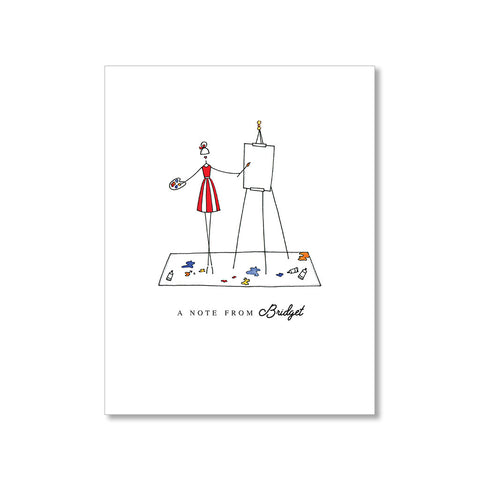 """FRESH CANVAS"" PERSONALIZED STATIONERY"