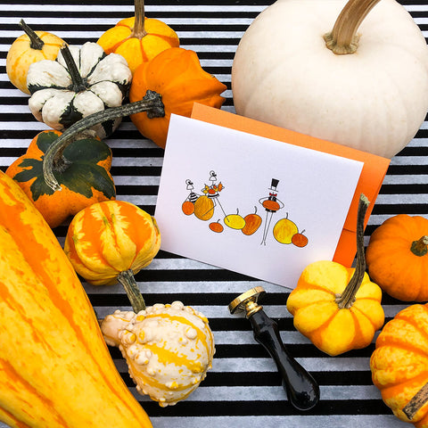 """PUMPKIN PATCH"" HALLOWEEN CARD"