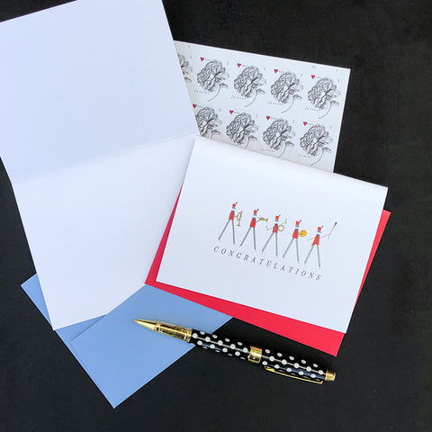 """STREET BAND"" CONGRATULATIONS CARD"