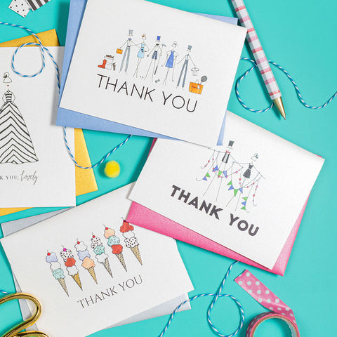 """LIFESTYLE COLLECTION"" THANK YOU CARD"