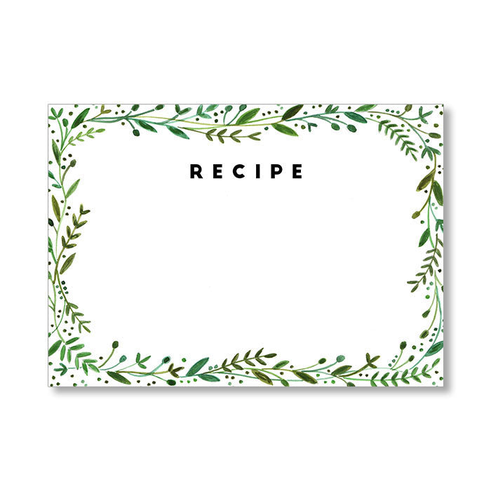 """MEREDITH"" RECIPE CARDS"