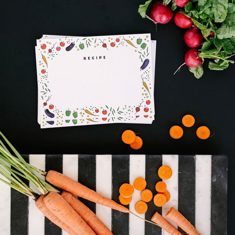 """FRESH PRODUCE"" RECIPE CARDS"