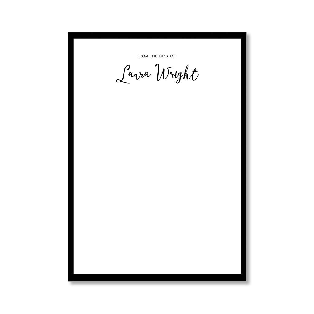"""SIMPLICITY"" PERSONALIZED STATIONERY"