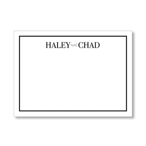 """WHIMSY"" PERSONALIZED STATIONERY"