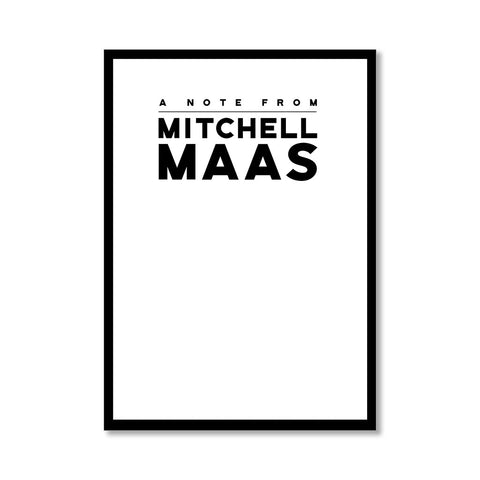"""MITCHELL"" PERSONALIZED STATIONERY"