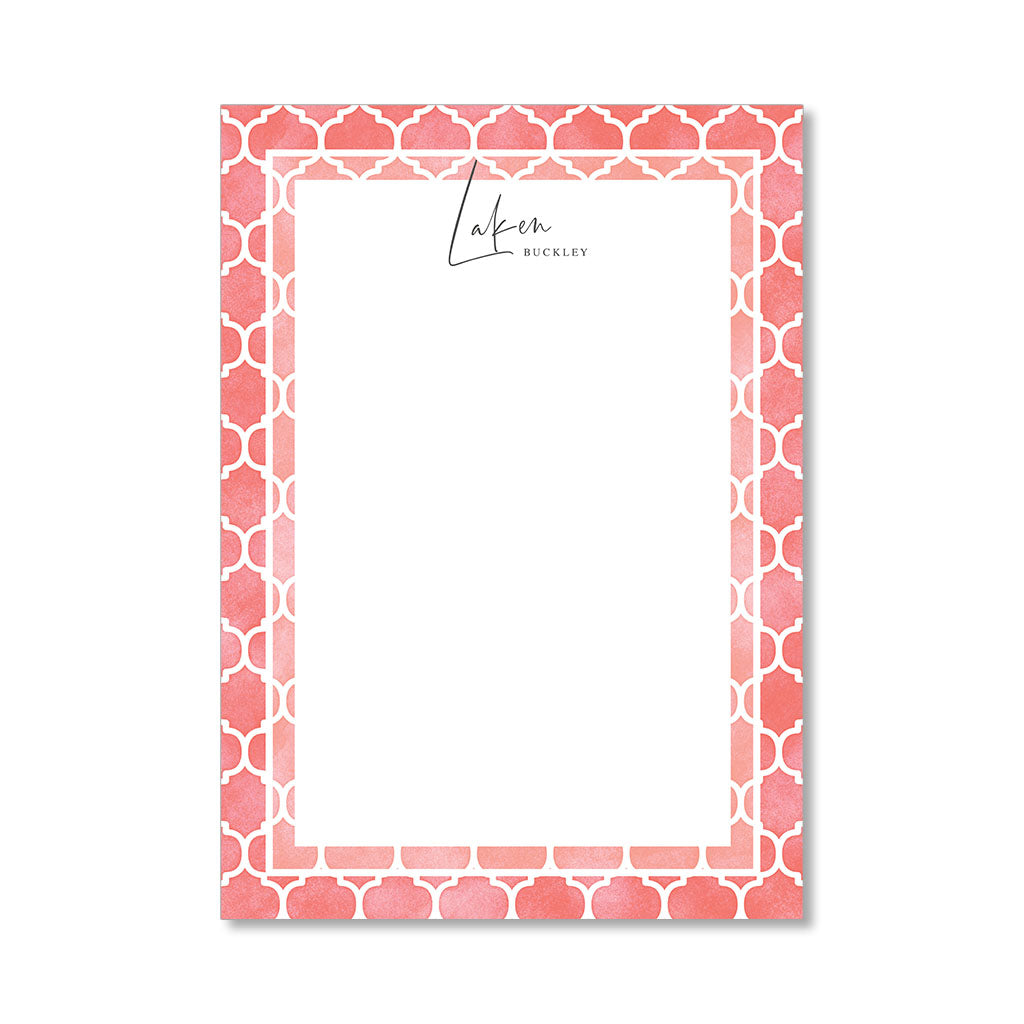 """BLISS"" PERSONALIZED STATIONERY"