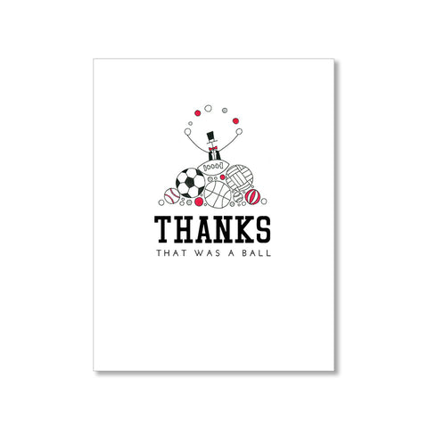 """GIFTS"" THANK YOU CARD"