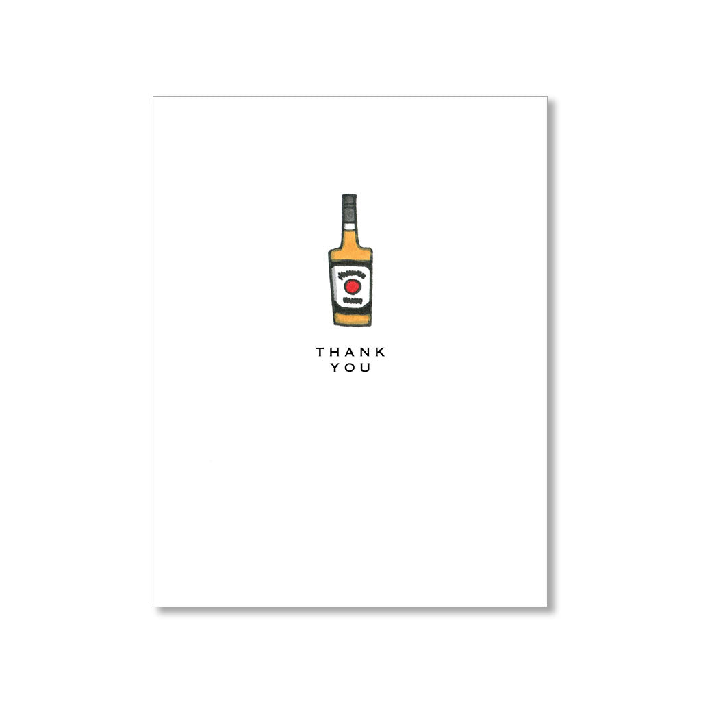 """BOURBON"" THANK YOU CARD"